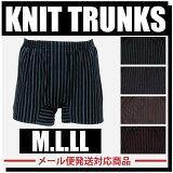 メンズ選べる4色ニットトランクス綿100%男性MLLLXL2枚までメール便選択可ボクサーパンツ楽天最安値に挑戦中国製