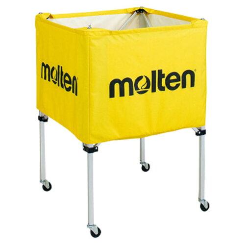 モルテン(Molten) 折りたたみ式ボールカゴ(中・背低) 黄 (mt-bk20hly-)