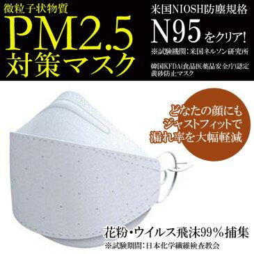 【PM2.5対策 大気汚染対策 花粉 インフルエンザ】微小粒子状物質PM2.5対策マスク 高機能マスク 1枚入【7,000円以上購入で送料無料】