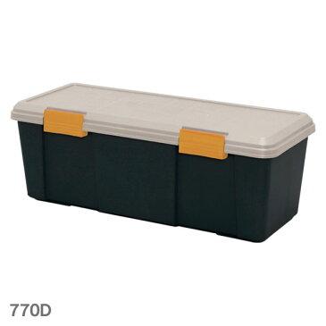 RVBOX 770D カーキ/ブラック アイリスオーヤマ RVボックス 車 トランク 収納 小物 整理 キャンプ BBQ レジャー カー用品 スポーツ用品 工具 [cpir]