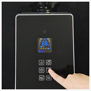ALCOLLE〔アルコレ〕ハイブリッド加湿器リモコン付きASH-601W・Kホワイト・ブラック送料無料加湿器ハイブリッドタッチパネルハイブリットASH601白黒インテリアおしゃれ加湿機◆10