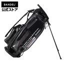 Clear Stand Caddy Bag ゴルフバッグ キャディバッグ スタンドバッグ ブラック(BLACK 黒)クリアバッグ BANDEL バンデル メンズ レディース スポーツ LEON掲載・・・