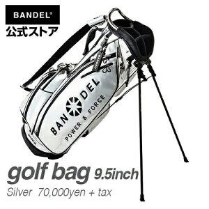 キャディーバッグスタンドバッグゴルフバッグシルバー(SILVER銀)BANDEL2019golfbagBANDELバンデルメンズレディーススポーツ