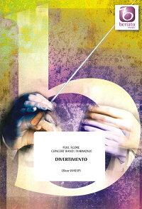 ☆ディヴェルティメント作曲:オリヴァー・ヴェ—スピDivertimentoOliverWaespi【吹奏楽-楽譜セット】
