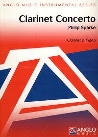 クラリネット協奏曲作曲:フィリップ・スパークClarinetConcerto【クラリネット&ピアノ譜セット】