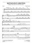 ベートーヴェンの表敬 作曲: フィリップ・スパーク Beethoven's GreetingFantasy on the cannon Freu' dich des Lebens【吹奏楽-オプション合唱パート】