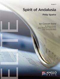 スピリット・オブ・アンダルシア作曲:フィリップ・スパークSpiritofANDALUSIA/PhilipSparke【吹奏楽-楽譜セット】