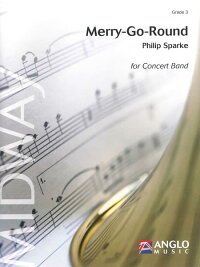メリーゴーランド作曲:フィリップ・スパークMerry-Go-Round【吹奏楽-楽譜セット】
