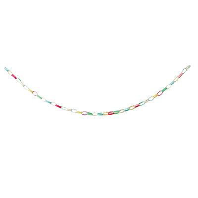 メリーパーティーガーランドチェーン|chain|鎖|輪っか|お誕生日|パーティ|フェルト|飾り|布|現代百貨|GENDAIHYAKKA|プレゼント|ギフト|バースデー|【楽ギフ_包装】