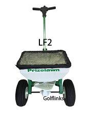 プライズローンLF2家庭用手押し式散布機大型空気入タイヤ