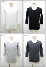 AVIREX【アビレックス/アヴィレックス】ラウンドネック7分袖Tシャツ6143509(旧品番6123226)