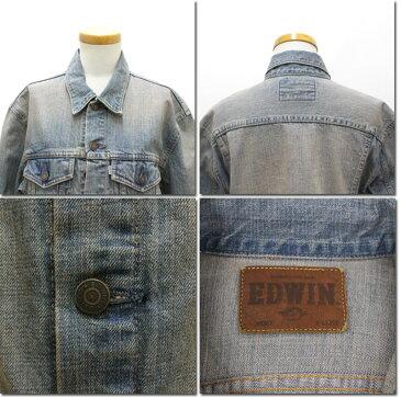 EDWIN 【エドウィン】 インターナショナルベーシック デニムジャケット 403 Gジャン 46148