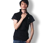 BUZZWEAR半袖ライダースパーカーメンズ秋春夏用黒/グレーM-XL