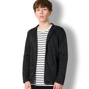 BUZZWEARスリムフィットジャケットメンズ秋冬春用黒M-XL
