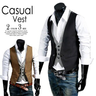 All points x 2 best men's spring summer slim fit there waistcoat organiccotton houndstooth check slim check layering wind batoumusume jacket * of () and date specified cannot be 02P06May15