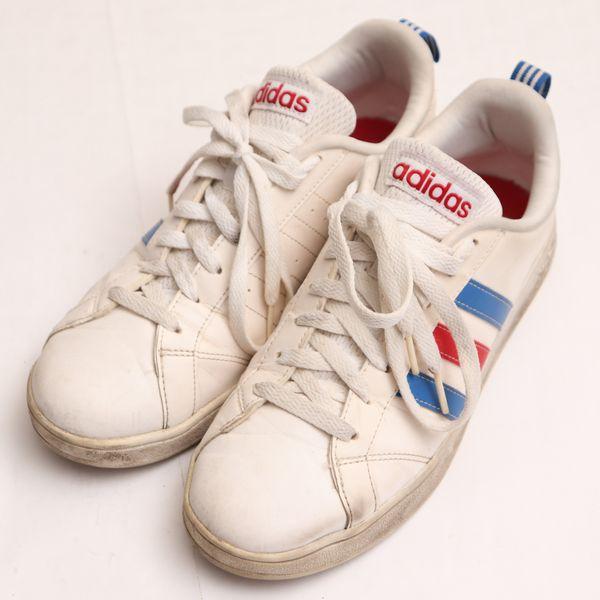 良品 アディダスadidas25.5サイズスニーカーメンズVALSTRIPESNEOF76594シューズ靴フットウェア定番スタ