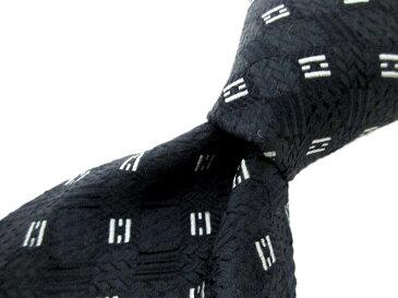 ブランド ネクタイ 【中古】GHERARDINI ゲラルディーニ 総柄 美品 メンズ プレゼント 【,r40889,】