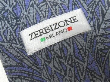 ブランド ネクタイ 【中古】ZERBIZONE ゼロビズワン 総柄 メンズ プレゼント 【,r4327,】