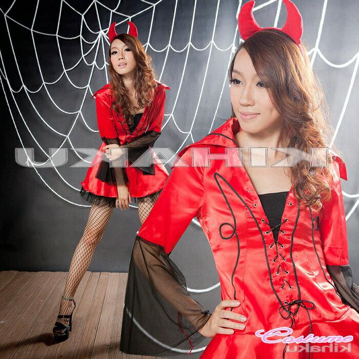 コスプレ レディース 魔女 小悪魔 吸血鬼 ヴァンパイアレディ ハロウィン衣装 パーティ イベント コスチューム:barce