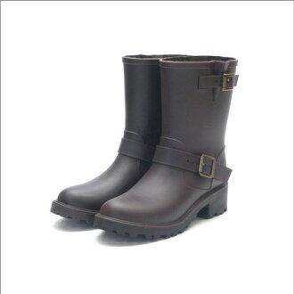 雨靴女裝女鞋防水颱風雨季鞋工程師派雨鞋雨鞋鞋雨鞋