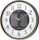 期間限定 掛け時計 メンズ レディース 時計 シチズン電波ソーラー掛時計 エコライフM807 4MY807-023 シチズン ※fu