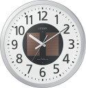 期間限定 掛け時計 メンズ レディース 時計 シチズン電波ソーラー掛時計 エコライフM815 4MY815-019 シチズン ※fu