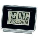 期間限定 目覚まし時計 メンズ レディース 時計 セイコー 電波目覚まし時計SQ767K ※fu