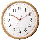 期間限定 掛け時計 メンズ レディース 時計 シチズン 電波掛時計 シンプルモードパレット 8MYA19-007 ※fu