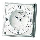期間限定 置き時計 メンズ レディース 時計 セイコー アラーム付 QK735W ※fu