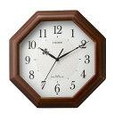 期間限定 掛け時計 メンズ レディース 時計 シチズン 電波掛時計 ネムリーナメイト 4MYA30-006 ※fu