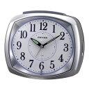 期間限定 目覚まし時計 メンズ レディース 時計 リズム ビューエリア 8RAA07SR19 ※fu