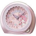期間限定 目覚まし時計 メンズ レディース 時計 セイコー製 マイメロディ CQ143P セイコー ※fu