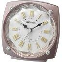 期間限定 目覚まし時計 メンズ レディース 時計 リズム ソプラノ R659 8RE659SR13 ※fu