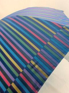 折り畳み傘レディース傘日本製雨傘折畳傘婦人甲州産先染朱子格子織生地軽量金骨2段式折傘ファッション雑貨小物折りたたみ傘女性用