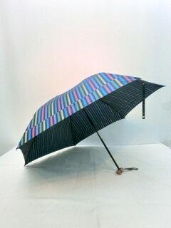 折り畳み傘レディース傘日本製雨傘折畳傘婦人甲州産先染朱子格子織生地軽量丸ミニ折傘ファッション雑貨小物折りたたみ傘女性用