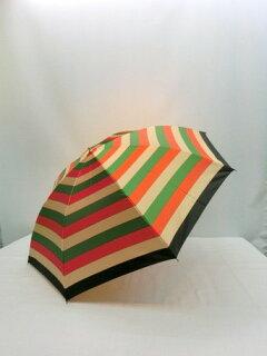 折り畳み傘レディース傘雨傘折畳傘婦人甲州産先染朱子格子日本製国産品2段式ファッション雑貨小物折りたたみ傘女性用