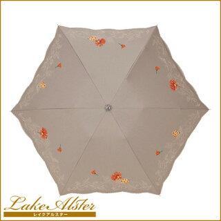日傘レディース傘折り畳み刺繍日傘イリ—デファッション雑貨女性用日焼け対策