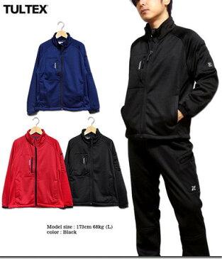 フリースジャケット メンズ アウター TULTEX タルテックス 裏フリース ニット シャギー ボンディング ジャケット メンズファッション ※fu