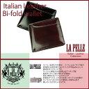 二つ折り財布 メンズ 小物 イタリアンレザー LA PELLE SIR...