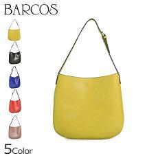 バルコスBARCOSショルダーバッグレザー本革リコバッグ鞄カバンショルダー黒