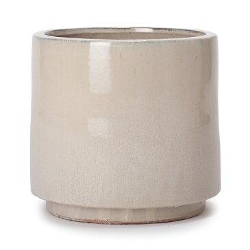 ヴィトロ エンデカ 10号 インナーポット付き  ≪おしゃれな植木鉢/陶器鉢/高温焼成≫