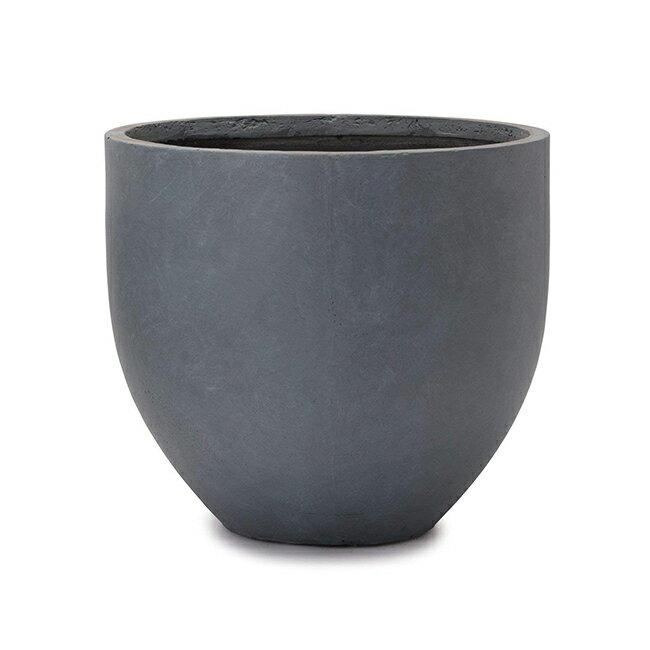 ファイバークレイプロ 20 ミュウ ラウンド40 ≪大型植木鉢/陶器・テラコッタより軽量なセメントプランター≫