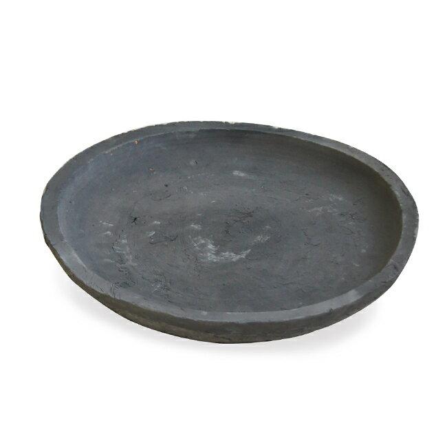 受け皿D 17cm  ≪植木鉢/おしゃれ/ラフ/陶器/テラコッタ/素焼き鉢≫