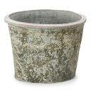 【植木鉢】【素焼き鉢】ヴィンテージポット キャトルA10号【植木鉢 おしゃれな植木鉢 鉢 テラコッタ ビンテージ 素焼き鉢 陶器鉢/セール対象1】