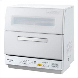 パナソニック NP-TR8-W/ホワイト 食器洗い乾燥機 エコナビ【送料無料】