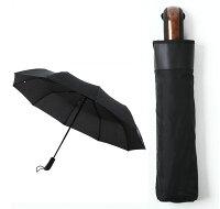 直径110cm10骨傘自動開閉折り畳み傘【撥水加工/収納ケース付き】【送料無料】05P05Sep15