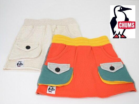 キッズ/CHUMS チャムス/kids's Light Weight Bush Skirt ライトウエイト スウェット ブッシュ スカート/CH23-1006