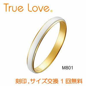 ブライダルジュエリー・アクセサリー, 結婚指輪・マリッジリング True Love Pt900 K18 M801 PILOT