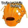BSSショップ限定【ミズノプロ】硬式内野手用右投げ用ビターオレンジ【1ajgh22023】