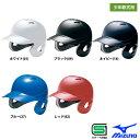 ミズノ ジュニア少年用 軟式 ヘルメット 両耳 打者用 野球用 1DJHY102 miz17ss